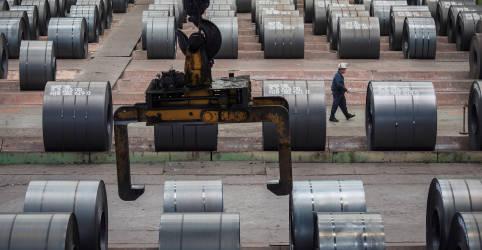 Placeholder - loading - Imagem da notícia Importações de minério pela China caem em abril ante março