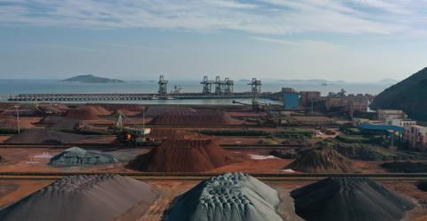 Placeholder - loading - Imagem da notícia Minério de ferro supera US$200/t no 'spot' chinês; aço também renova máxima