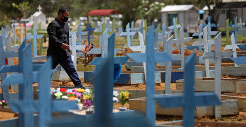 Placeholder - loading - Imagem da notícia Brasil registra 2.165 novas mortes por Covid-19 e total atinge 419.114