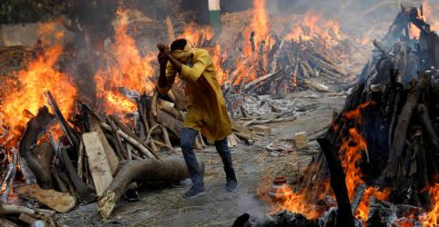 Placeholder - loading - Imagem da notícia Mortes por Covid-19 da Índia passam de 250 mil e vírus se espalha pelo interior rural