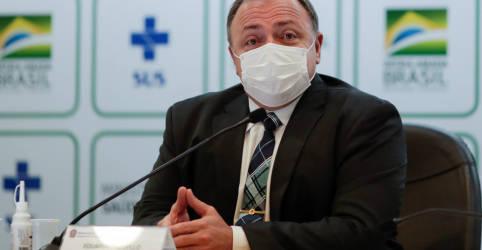 Placeholder - loading - Imagem da notícia Pazuello preteriu vacina da Pfizer por avaliar que Brasil não precisaria do imunizante, dizem fontes