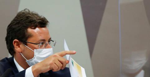 Placeholder - loading - Pfizer enviou carta a autoridades e queria fazer do Brasil vitrine de vacinação, diz Wajngarten