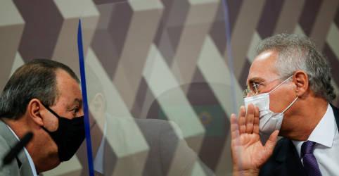 Placeholder - loading - Imagem da notícia Presidente da CPI diz que não pedirá prisão de Wajngarten por mentir à comissão