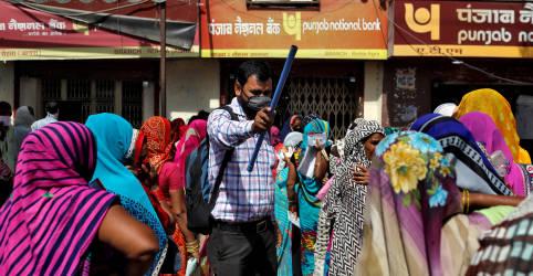 Placeholder - loading - Mais de 4 mil indianos morrem de Covid-19 pelo 2º dia seguido