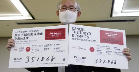 Placeholder - loading - Imagem da notícia Críticos da Olimpíada de Tóquio apresentam petição solicitando cancelamento