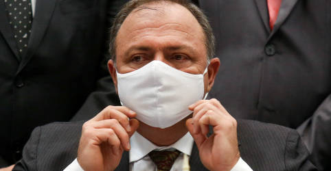 Placeholder - loading - Imagem da notícia Lewandowski decide garantir direito a silêncio de Pazuello na CPI da Covid
