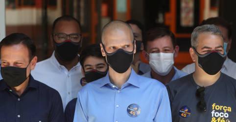 Placeholder - loading - Imagem da notícia Quadro de saúde de Bruno Covas é irreversível, diz equipe médica