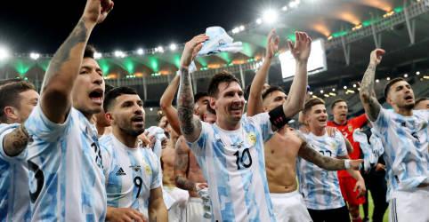 Placeholder - loading - Imagem da notícia Argentina vence Brasil e é campeã da Copa América após 28 anos