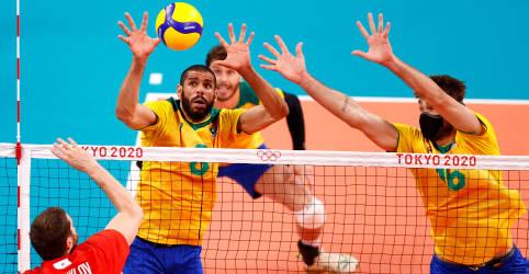Placeholder - loading - Imagem da notícia Brasil perde dos russos no vôlei masculino e disputará bronze contra Argentina