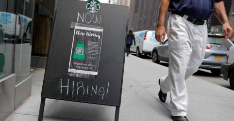 Placeholder - loading - Imagem da notícia Criação de vagas de trabalho nos EUA deve ter sido forte em julho com fatores técnicos