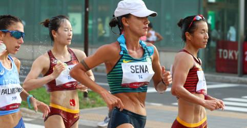 Placeholder - loading - Érica Sena é punida no fim da marcha e fica sem medalha; italiana ganha ouro