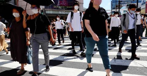 Placeholder - loading - Casos de Covid do Japão chegam a 1 milhão, e infecções se espalham para além de Tóquio