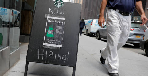 Placeholder - loading - Criação de vagas de trabalho nos EUA é sólida em julho; desemprego cai para 5,4%