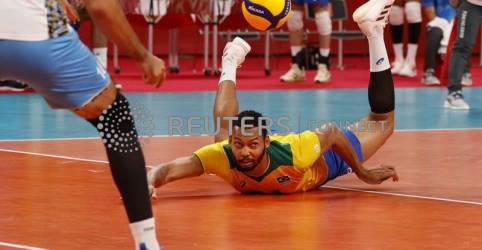 Placeholder - loading - Brasil perde para a Argentina e fica em 4º lugar no vôlei masculino