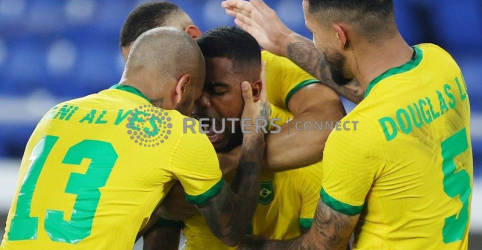 Placeholder - loading - Imagem da notícia Malcom marca na prorrogação e Brasil leva o ouro do futebol masculino em Tóquio