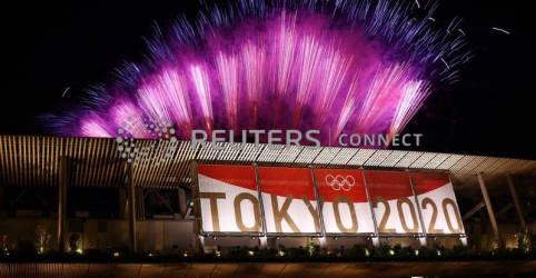 Placeholder - loading - Imagem da notícia Tóquio apaga chama olímpica e encerra os Jogos da pandemia