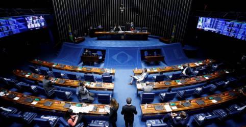 Placeholder - loading - Imagem da notícia Senado aprova projeto que revoga Lei de Segurança Nacional e cria crime contra Estado Democrático de Direito