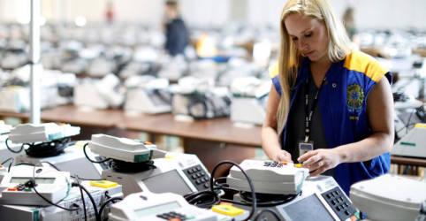 Placeholder - loading - Atual sistema de votação é plenamente auditável, diz ministro do TCU; pedido de vista adia julgamento