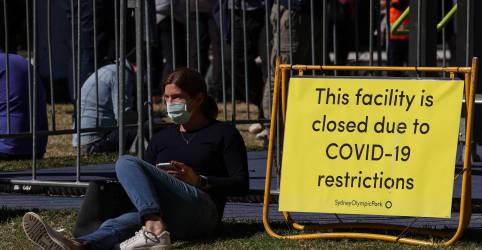 Placeholder - loading - Sydney registra dia mais letal da pandemia; Melbourne prorroga lockdown