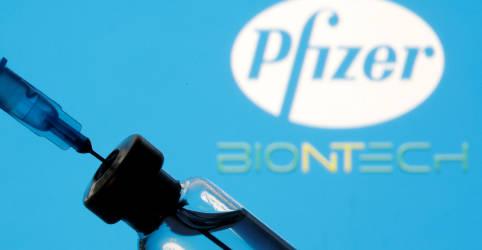 Placeholder - loading - Imagem da notícia Pfizer apresenta dados de teste para dose de reforço de vacina contra Covid-19