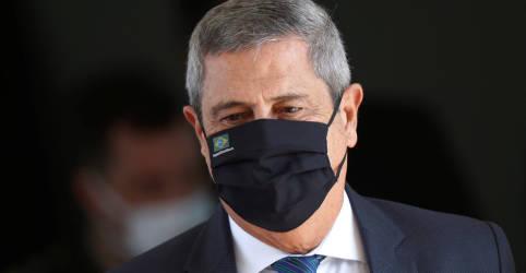 Placeholder - loading - Imagem da notícia Braga Netto nega que tenha feito ameaças ao Senado e ao presidente da Câmara