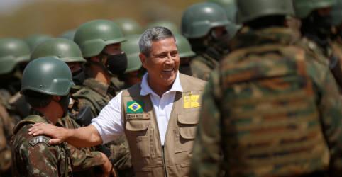 Placeholder - loading - Imagem da notícia Braga Netto nega articulação das Forças Armadas fora da Constituição