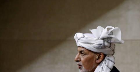 Placeholder - loading - Exilado, Ghani diz que deixou Cabul para evitar derramamento de sangue e que não levou dinheiro
