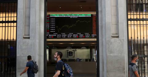 Placeholder - loading - Ibovespa fecha em queda com riscos políticos e fiscais; Vale recua mais de 3%