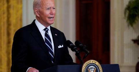 Placeholder - loading - Imagem da notícia Biden diz que ele e primeira-dama tomarão dose de reforço da vacina contra Covid