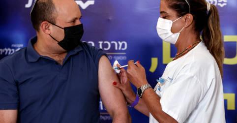 Placeholder - loading - Imagem da notícia Premiê toma 3ª dose da vacina contra Covid e Israel amplia campanha de reforço