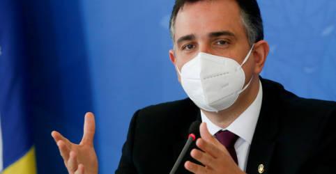 Placeholder - loading - Imagem da notícia Pacheco diz não antever fundamentos para impeachment de ministro do STF