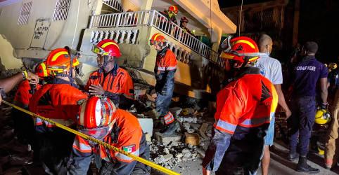 Placeholder - loading - Imagem da notícia Haiti registra tumultos e desespero uma semana depois do terremoto