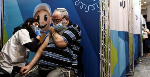 Placeholder - loading - Israel constata que 3ª dose de vacina reduz muito os riscos de Covid-19