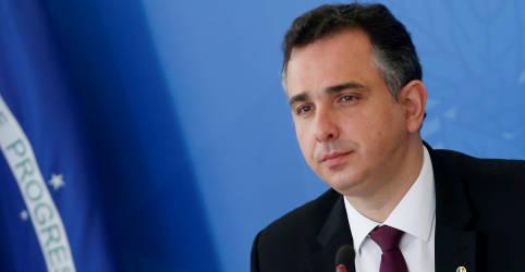 Placeholder - loading - Imagem da notícia Pedido de impeachment de ministro do STF estabelece retrocesso e dificulta relações, diz Pacheco