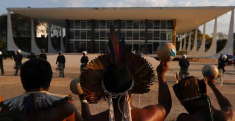 Placeholder - loading - STF suspende julgamento e marco temporal para terras indígenas será retomado próxima quarta