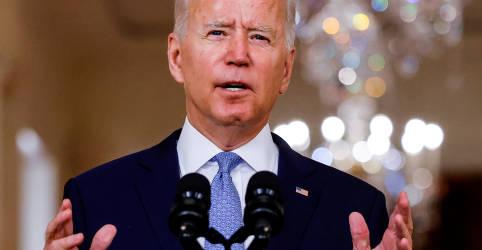 Placeholder - loading - Biden tenta afastar críticas sobre saída dos EUA do Afeganistão
