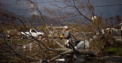 Placeholder - loading - Imagem da notícia Moradores da Louisiana podem ficar um mês sem energiaapós passagem de furacão Ida