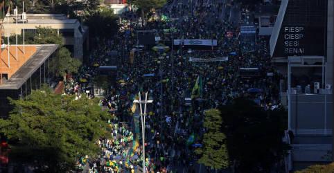 Placeholder - loading - Imagem da notícia PM revistará manifestantes na Paulista e no Anhangabaú no 7 de setembro, diz Doria