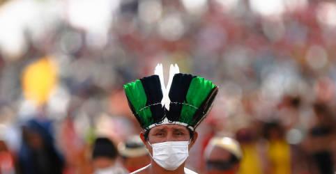 Placeholder - loading - Imagem da notícia STF suspende julgamento do marco temporal de terras indígenas e retoma sustentações na 5ª-feira