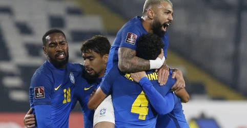 Placeholder - loading - Imagem da notícia Gol de Everton Ribeiro no segundo tempo garante vitória do Brasil sobre Chile