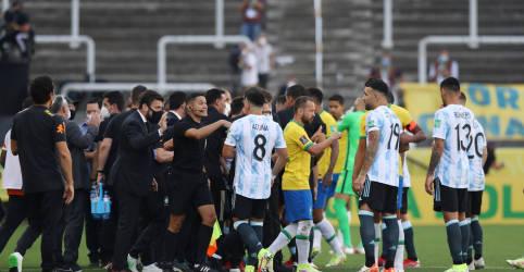 Placeholder - loading - Jogo Brasil x Argentina é suspenso após intervenção da Anvisa por violação de quarentena