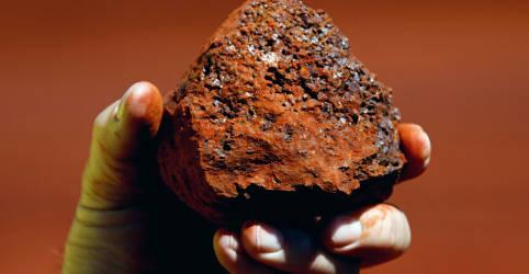 Placeholder - loading - Imagem da notícia Contratos futuros do minério de ferro caem para mínima de 7 meses na China