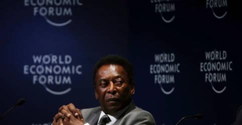 Placeholder - loading - Imagem da notícia Pelé está no hospital, mas não há motivo para preocupação, diz empresário