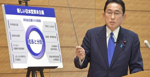 Placeholder - loading - Imagem da notícia Candidato a premiê do Japão, ex-chanceler Kishida mira disparidade de renda