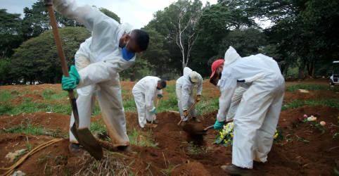 Placeholder - loading - Imagem da notícia Brasil supera 587 mil mortes e 21 milhões de casos confirmados de Covid