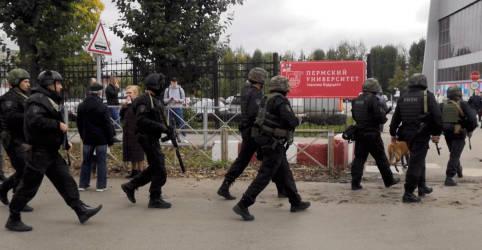 Placeholder - loading - Seis morrem em ataque em universidade russa; atirador está hospitalizado