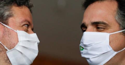Placeholder - loading - Imagem da notícia Lira e Pacheco se reunirão com Guedes nesta 3ª para discutir precatórios