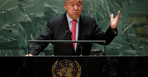 Placeholder - loading - Imagem da notícia Chefe da ONU repreende mundo por má distribuição de vacinas: 'Nota F em ética'