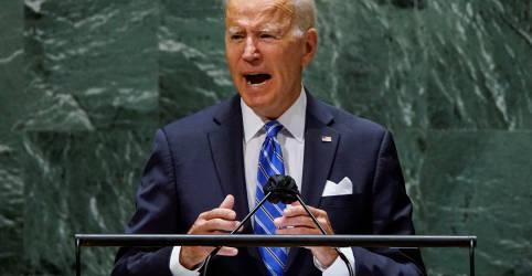 Placeholder - loading - Imagem da notícia Na ONU, Biden promete era de 'diplomacia incansável' dos EUA após erros militares