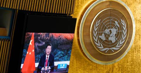 Placeholder - loading - Líder chinês promete não construir novos projetos energéticos com carvão no exterior